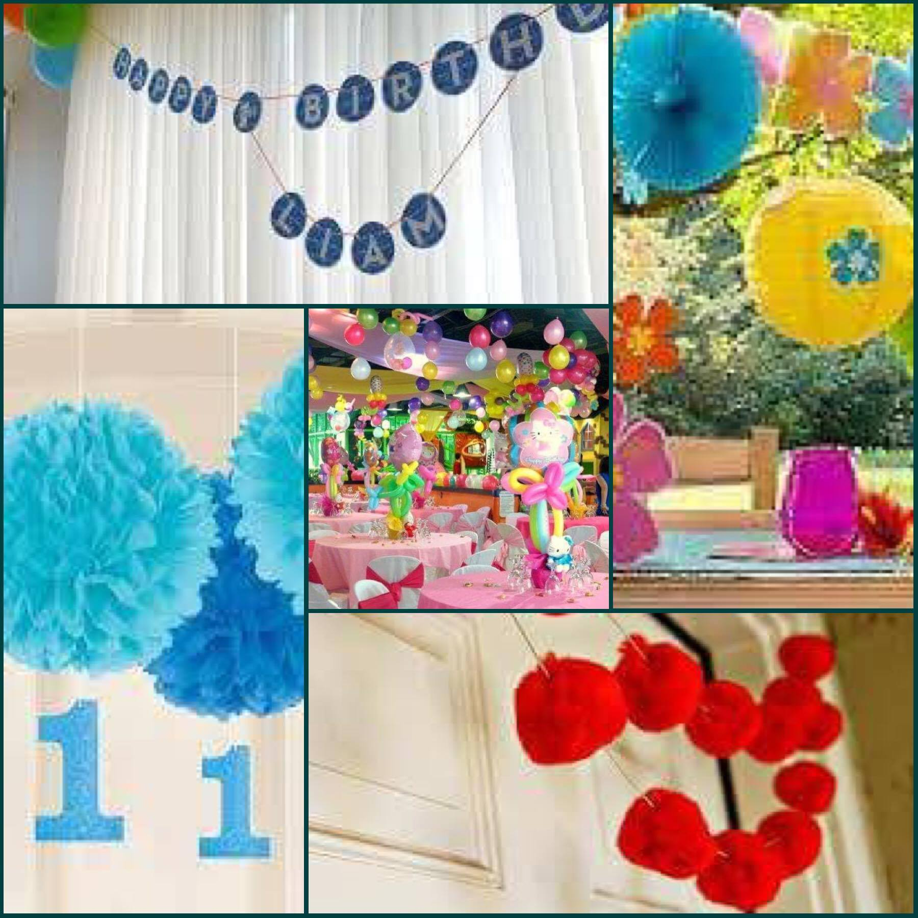amazing ideas for your babies first birthday party
