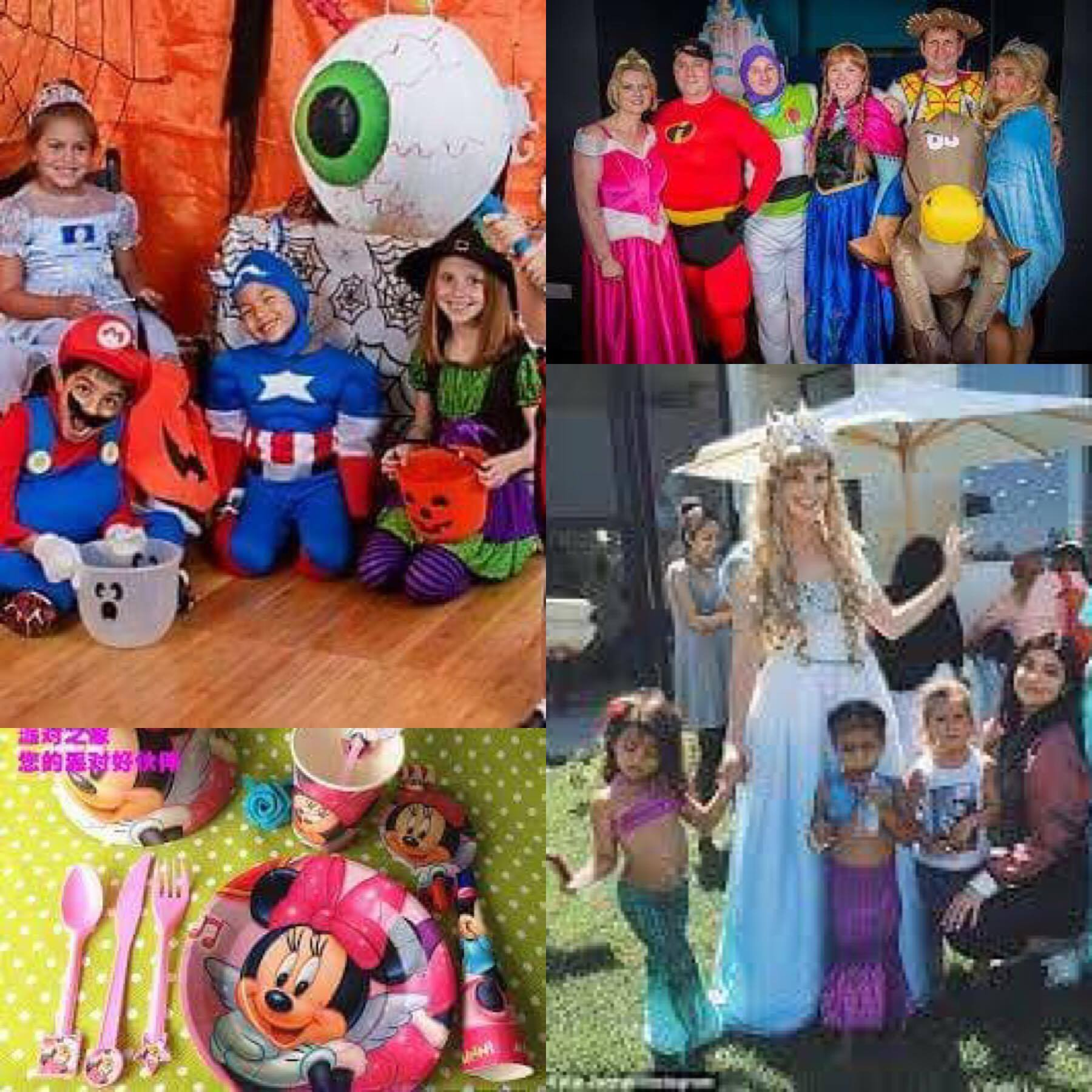 cartoon theme party ideas
