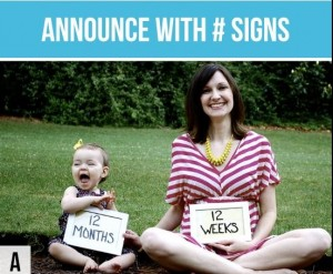 cute ways to announce your pregnancy