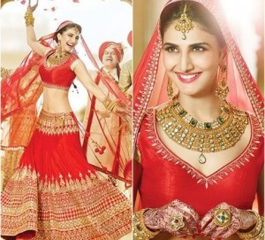 Anita Dongre - Bride in Red