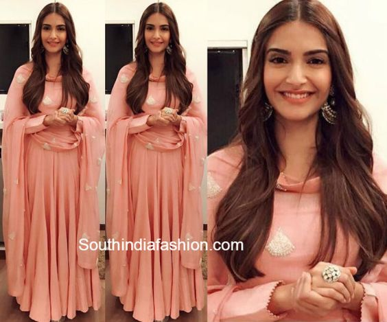 Image result for sonam kapoor pink anarkali