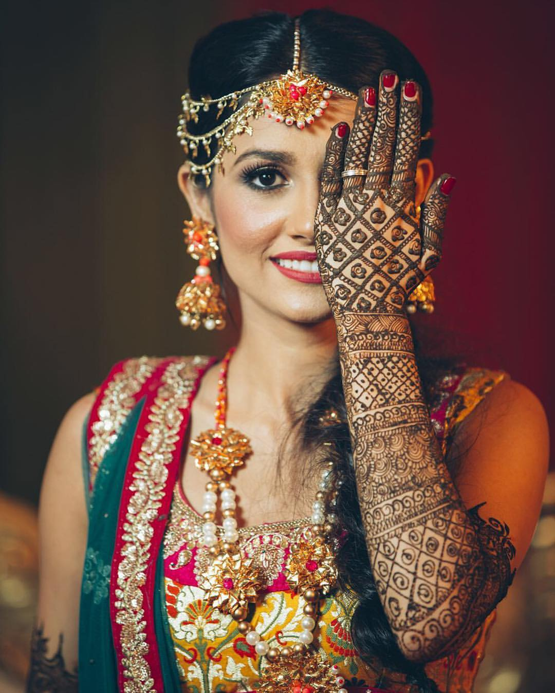 Mehendi Ceremony Look : Trending unique jewelry styles to flaunt at your