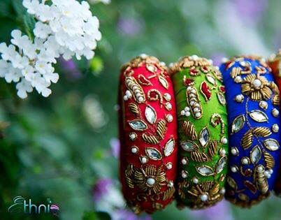 jewellery for mehendi day