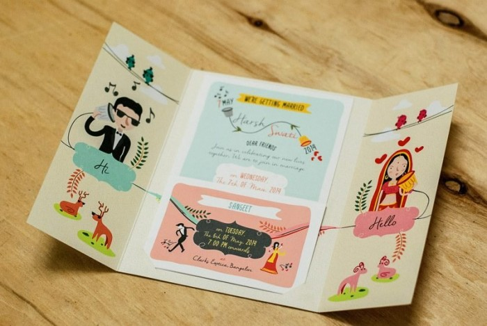 fun wedding invitations
