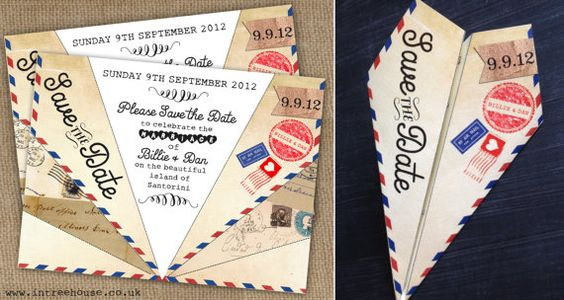 fun and beautiful wedding invitations