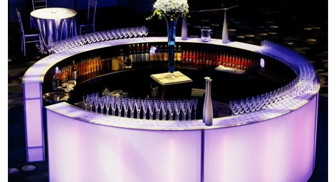 Circular Bar. Best Bar Ideas For Functions
