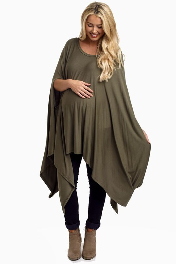 Image result for maternity fashion asymmetrical hemlines
