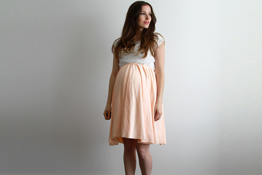 Image result for maternity fashion flared skirts
