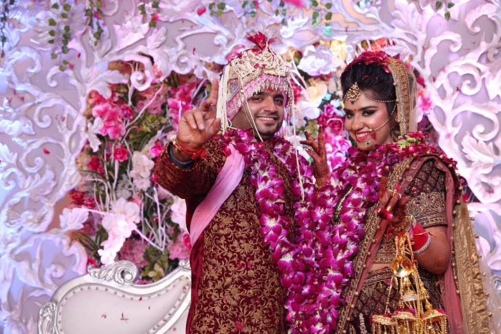 this couple had the most amazing wedding in delhi