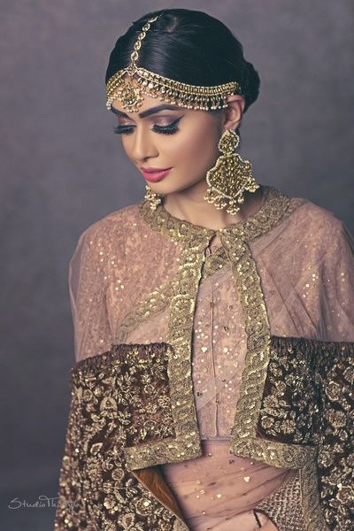 indowestern outfits for mehendi