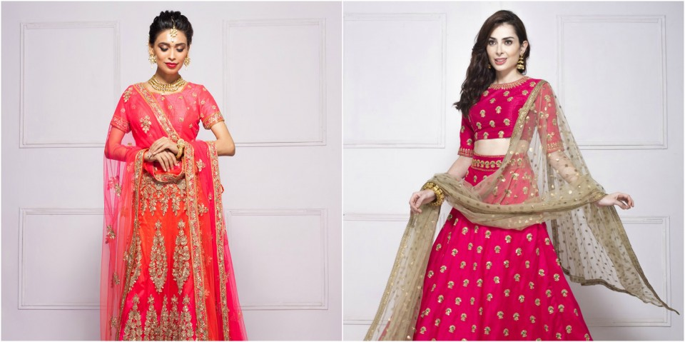 Now Rent Designer Lehengas, Gowns And Sarees Using Flyrobe ...
