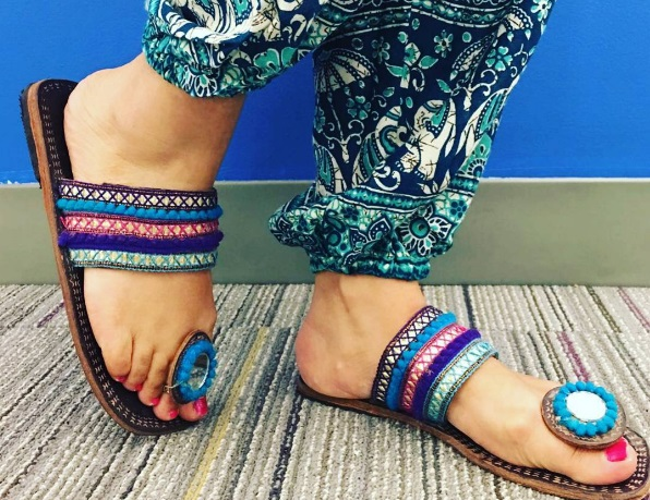 shoes to wear with your lehenga