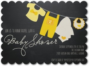 ideas for baby shower invites