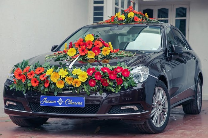 car decoration ideas for weddings