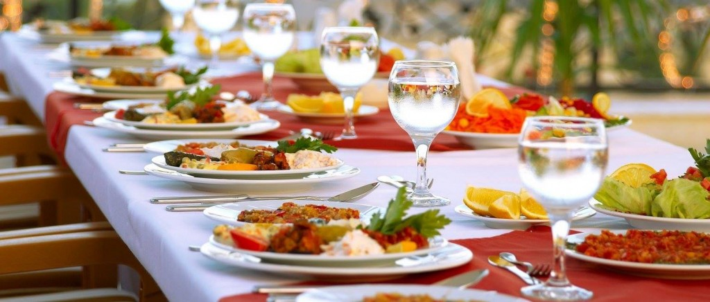 amazing food items for wedding functions