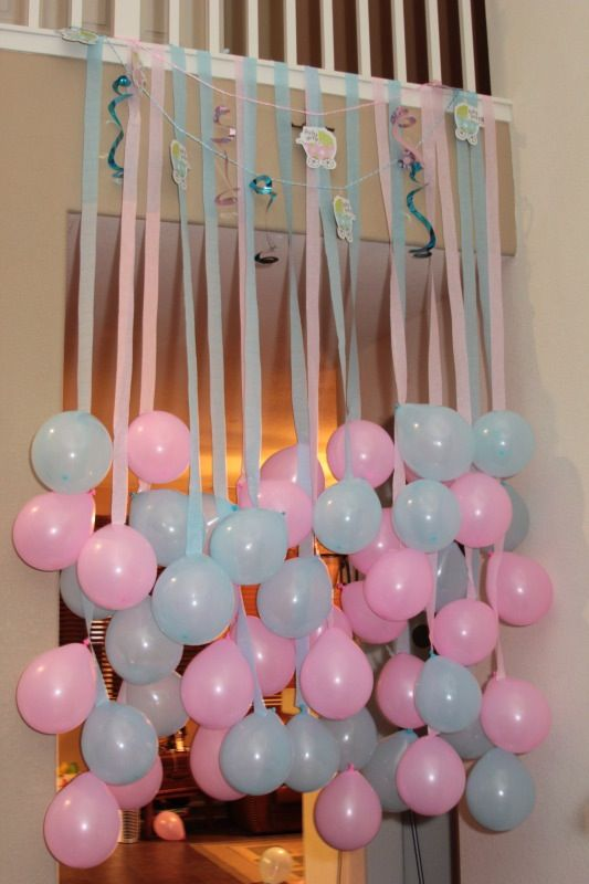 Birthday Decoration Ideas For Kids At Home Part - 50: How To Reveal The Baby Gender In A Fun Way. For Gender Reveal Party ...
