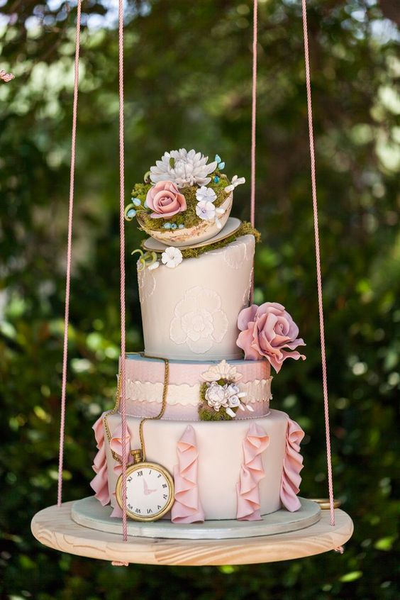 new trends for wedding cakes