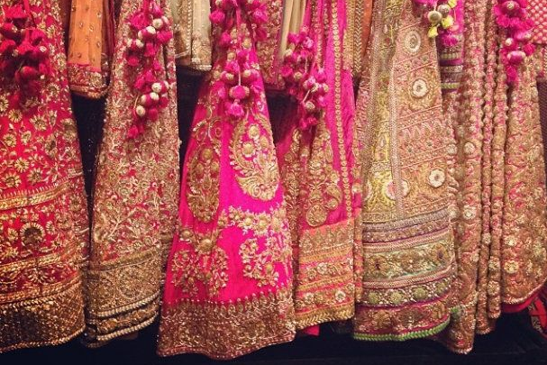 places for lehenga in chandni chowk