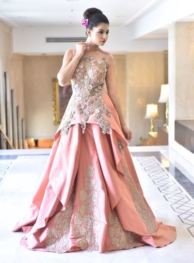 ideas for best engagement gowns in Delhi