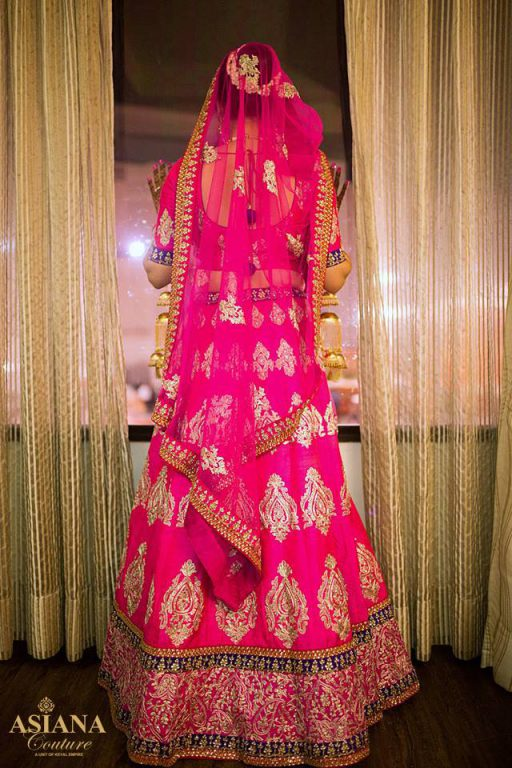 Asiana Couture - hot pink lehenga