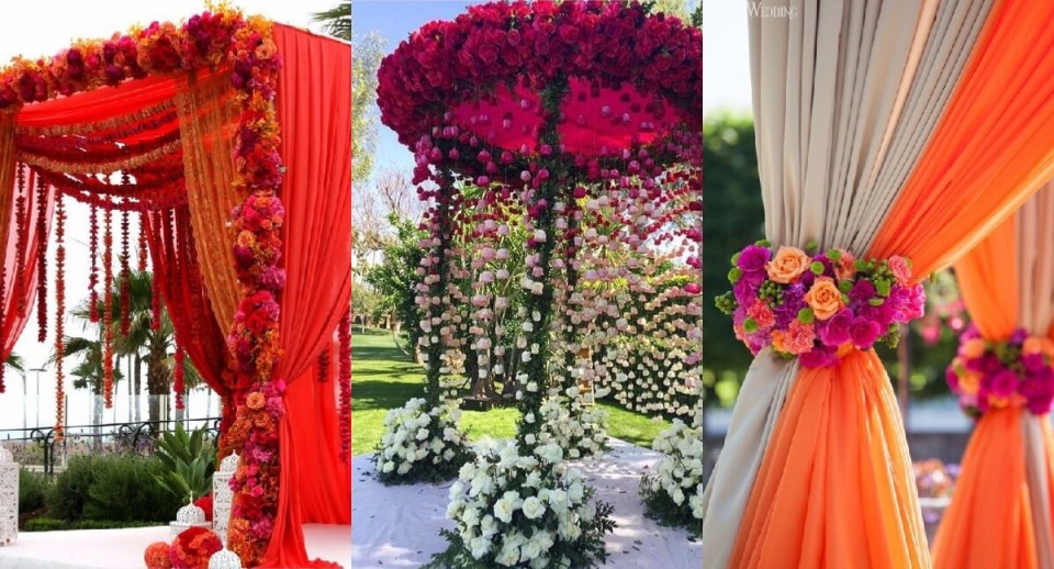 These 9 Breathtaking Mandap Décor Ideas Can Beautify Your Wedding Moment | FunctionMania & These 9 Breathtaking Mandap Décor Ideas Can Beautify Your Wedding ...