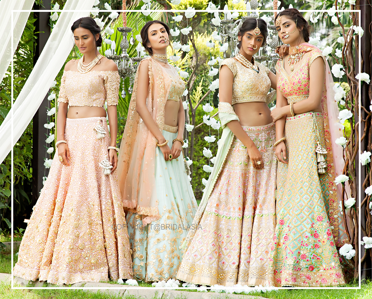 where to buy bridal lehengas in mumbai real brides reveal