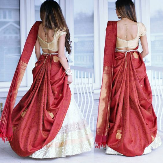 25 Ways To Drape Your Saree In The Most Stylish  U0026 Innovative Manner
