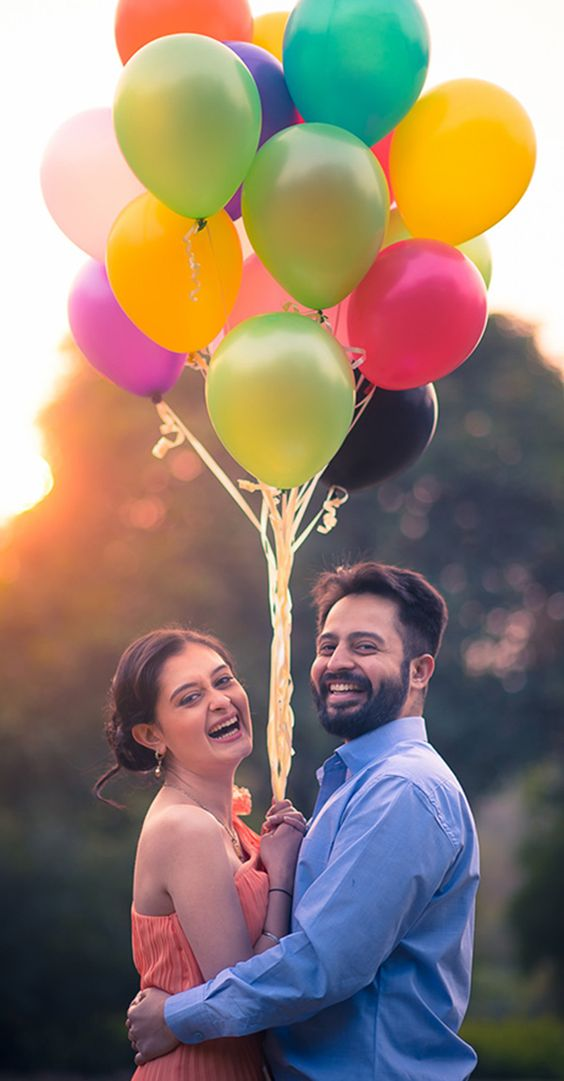 Props To Make Your Pre-Wedding Shoot Pop!