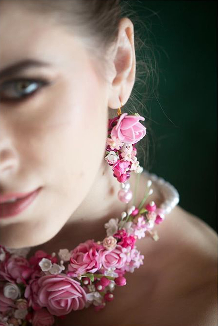 beautiful floral jewelry designs