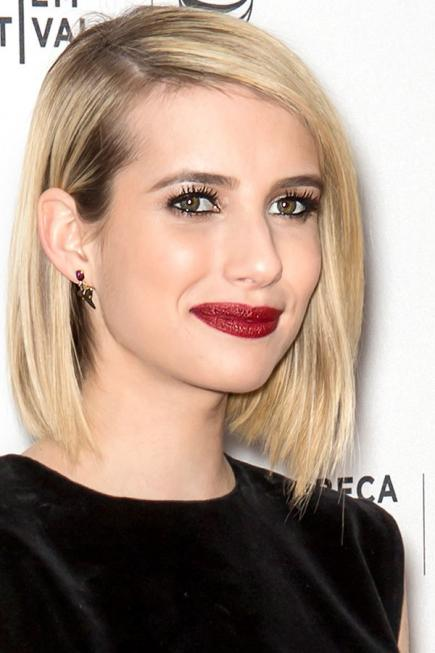 hairstyles for oval face