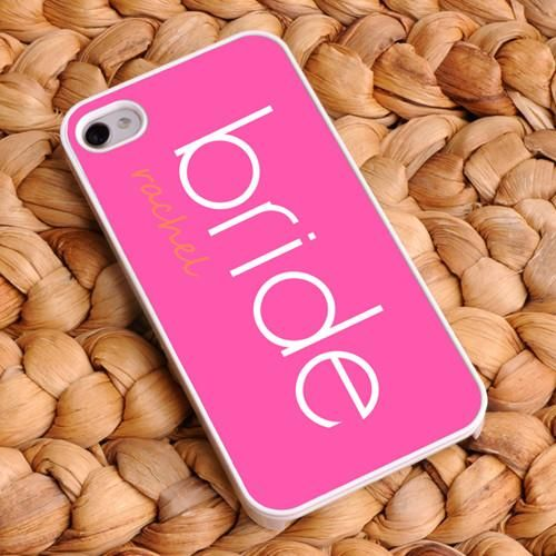 bridal customized phone covers