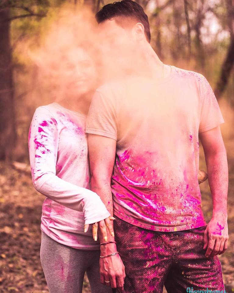 smoke bombs used in pictures