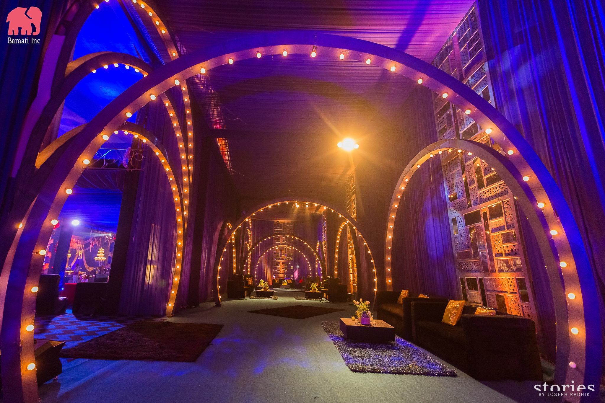 Wedding planned by Baraati Inc | This Couple's IIFA Themed Sangeet Is the Most Fun Thing You'll See Today | FunctionMania