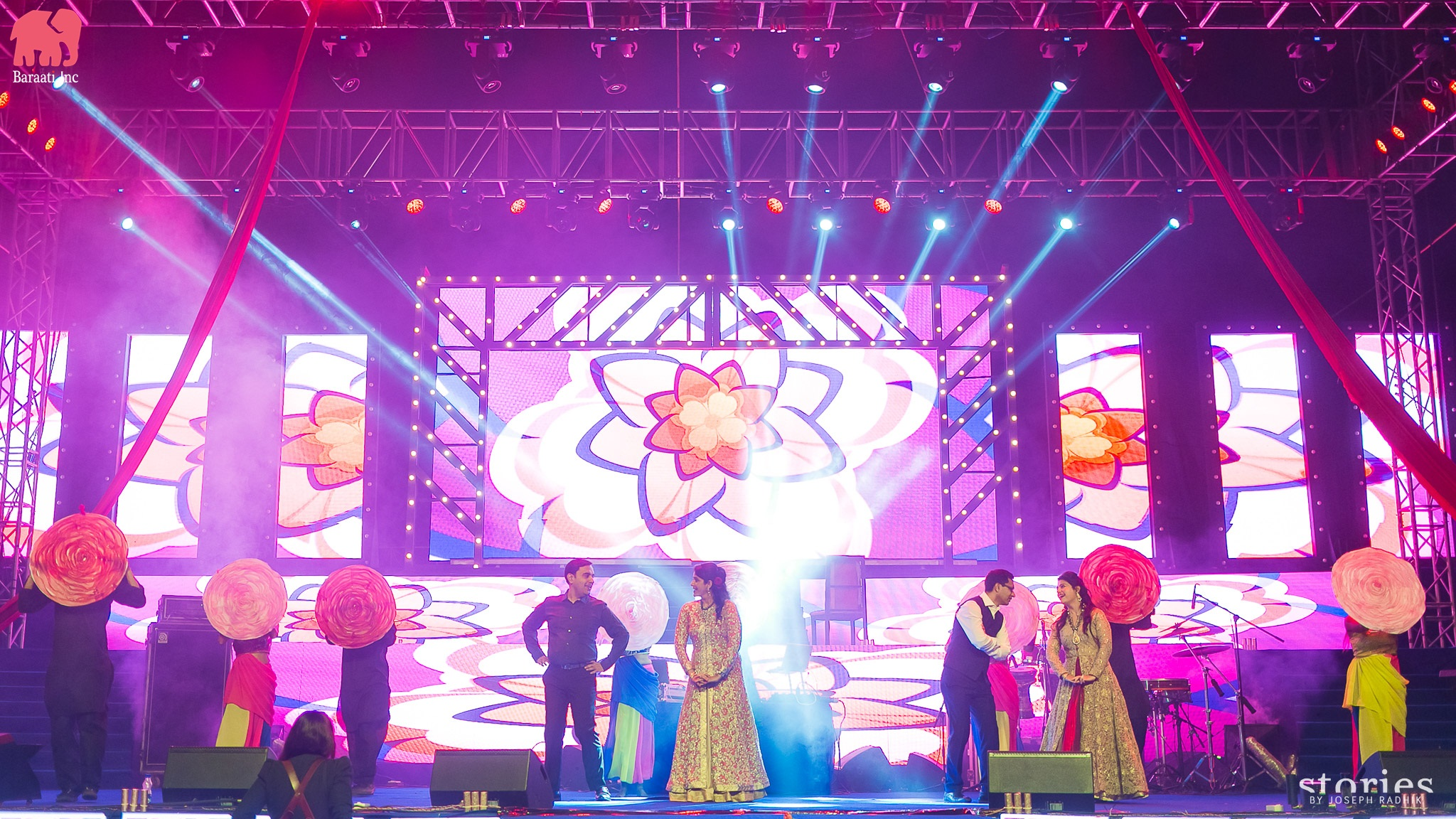 Medha and Ritesh | Wedding Sangeet| | Baraati Inc | This Couple's IIFA Themed Sangeet Is the Most Fun Thing You'll See Today | FunctionMania