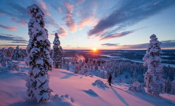 Kaamos in Lapland