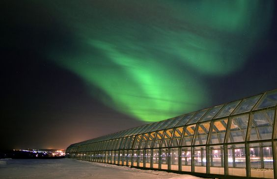 Regional Museum of Lapland, the Arctic Science Centre, and a high-tech conference centre