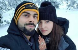 Virat Kohli and Anushka Sharma in Lapland