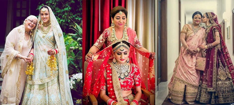 Feature Image | Function Mania | Blog Post | Indian Brides and Mothers photo pose ideas | You Have to See These Picture-Perfect Mother & Bride Moments!