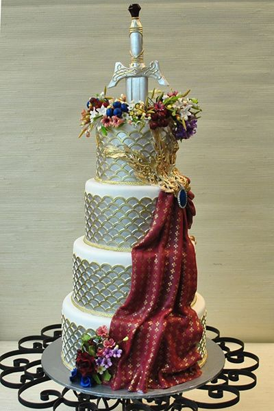 Game of Thrones wedding cake