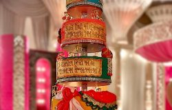 Saat Phera Indian Wedding Cake