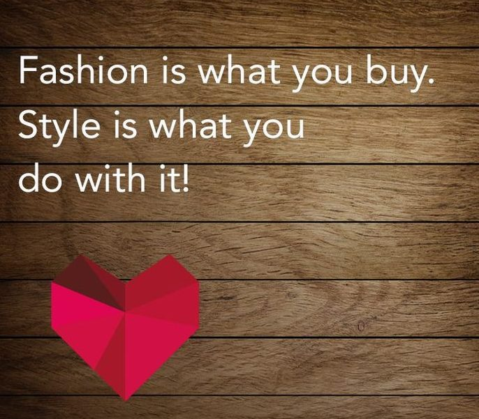 Fashion is what you buy- quote on Fashion- Function Mania