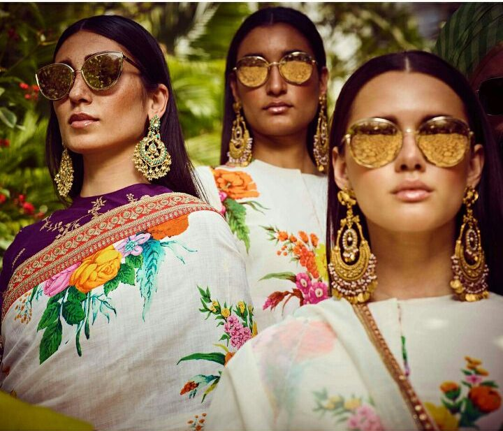 Earrings by Sabyaschi   Sabyasachi Jewellery 2018   latest Jewellery Trends   Spring Summer Collection 2018   Function Mania