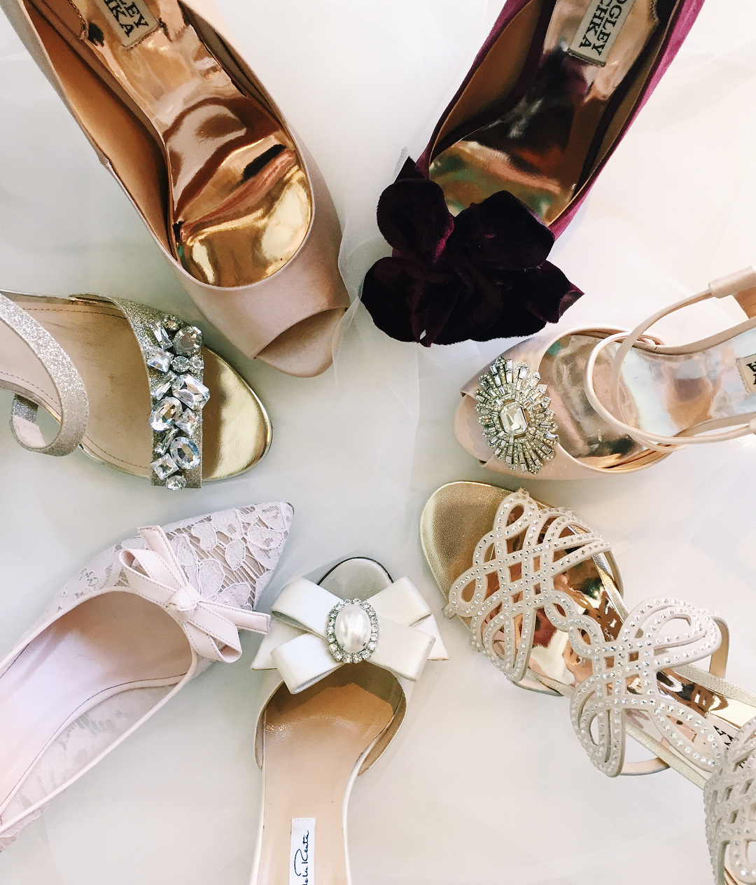 Beautiful Bridal Shoes - Shoes for weddings