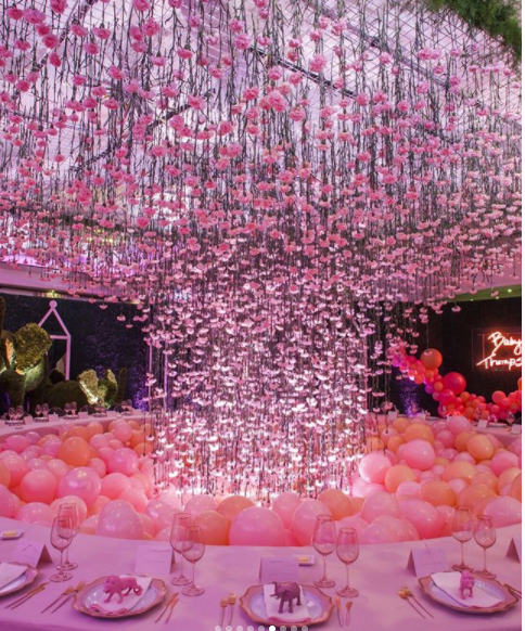 Baby shower Pink Decor ideas