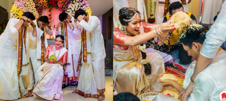 WHEN A BENGALI GROOM GETS MARRIED THE TELUGU WAY! Feature Image- Ramya And Rahul Hyderabadi wedding | Start Studded Wedding | Function Mania |