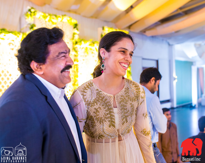 Saina Nehwal attending a wedding in Hyderabad | A Plush Start-Studded Wedding Reception With Stunning Ceiling Decor | Function Mania | Ramya weds Rahul | When a Bengali Groom gets married the telugu way | Indian wedding | Intercultural weddings are the best | Indian wedding decor | Gorgeous wedding decor | Gorgeous ceiling decor \ white ceiling decor | Indian wedding decoration ideas | Hyderabadi weddings |