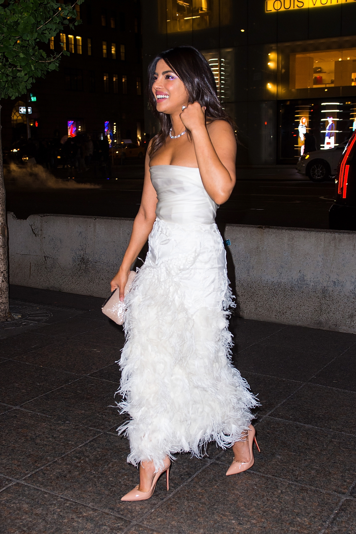 Priyanka Chopra Spotted at Tiffanys Blue Box Cafe for her bridal Shower on October 28, 2018
