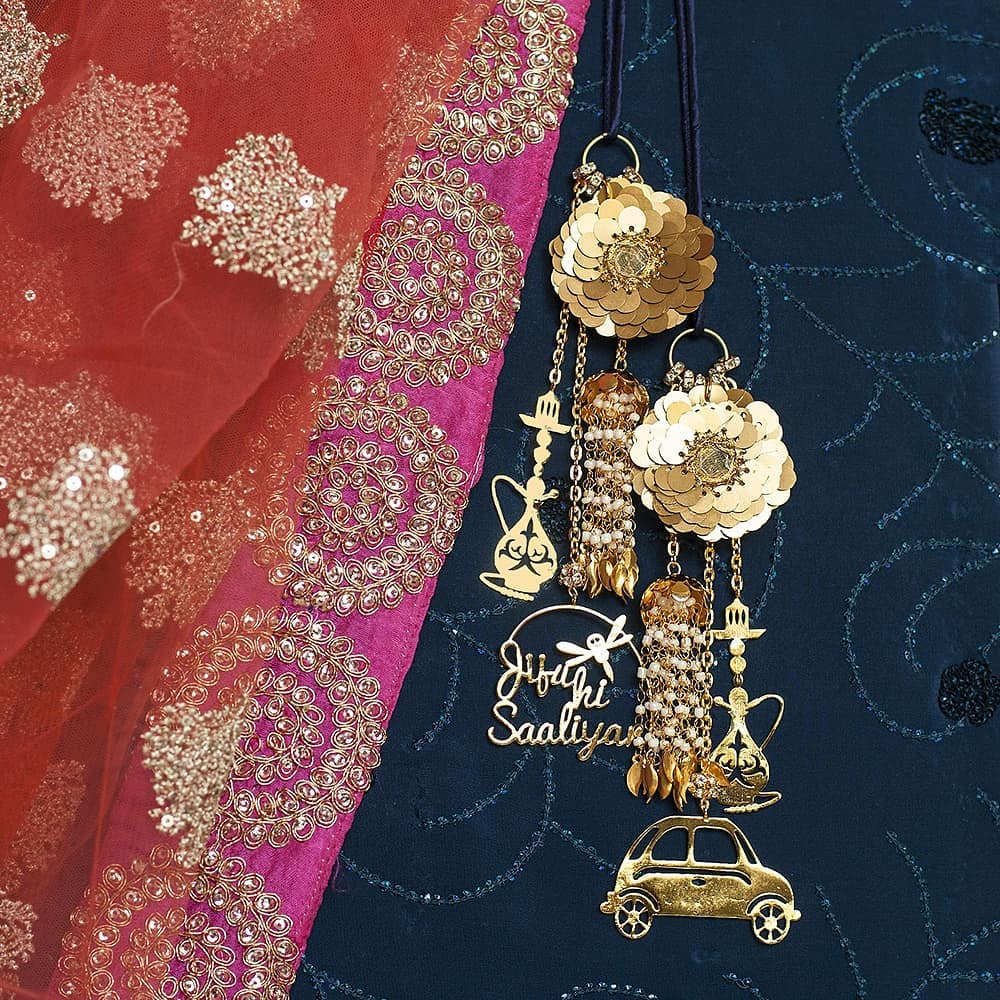 Personalised Tassels with Text jiju ki Saliyaan and Multiple Designer Motifs!