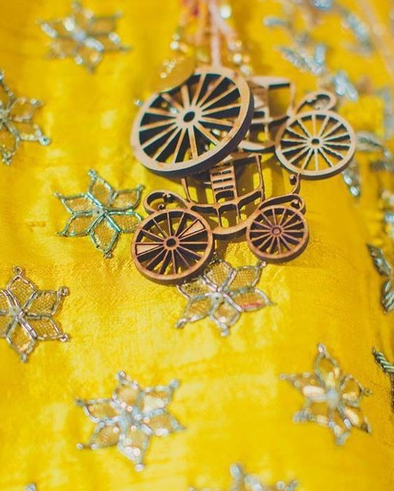 CuteMetallic Cart Tassels For Lehenga