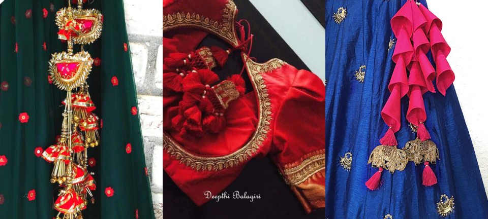 Wedding Trend We Are Loving: 30+ Unique Tassels (Latkan Design) For Lehenga!